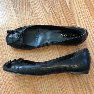 Cole Haan Black Oxford Tassel Flats 7.5 Nike Air